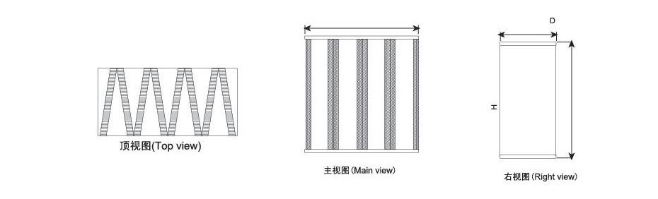 箱式三视图