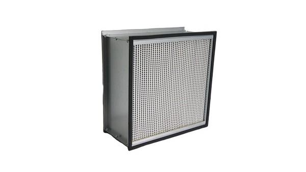 铝隔板高效空气过滤器的特点分析