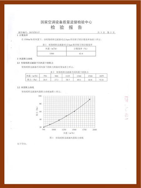 初效纸框过滤器检验报告-3